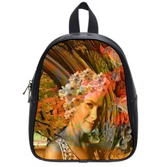 Autumn School Bag (small) by icarusismartdesigns
