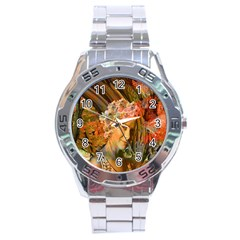 Autumn Stainless Steel Watch by icarusismartdesigns