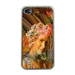 Autumn Apple Iphone 4 Case (clear) by icarusismartdesigns