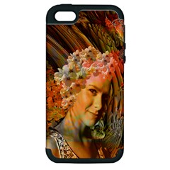 Autumn Apple Iphone 5 Hardshell Case (pc+silicone) by icarusismartdesigns
