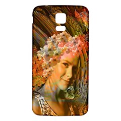 Autumn Samsung Galaxy S5 Back Case (white) by icarusismartdesigns