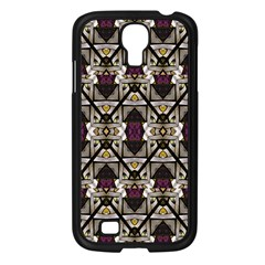 Abstract Geometric Modern Seamless Pattern Samsung Galaxy S4 I9500/ I9505 Case (black) by dflcprints