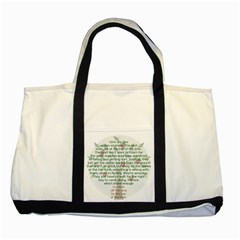 Appletree Two Toned Tote Bag