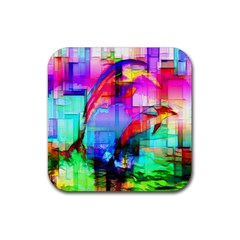 Tim Henderson Dolphins Drink Coasters 4 Pack (square) by TheWowFactor