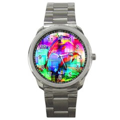Tim Henderson Dolphins Sport Metal Watch by TheWowFactor