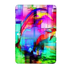 Tim Henderson Dolphins Samsung Galaxy Tab 2 (10 1 ) P5100 Hardshell Case  by TheWowFactor