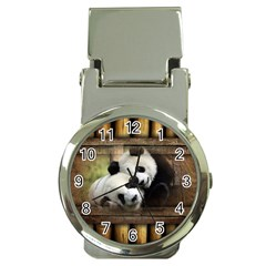 Panda Love Money Clip With Watch by TheWowFactor