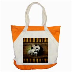 Panda Love Accent Tote Bag by TheWowFactor