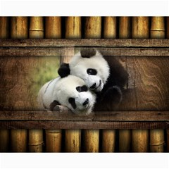 Panda Love Canvas 16  X 20  (unframed) by TheWowFactor