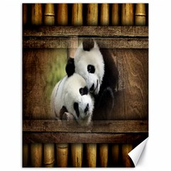 Panda Love Canvas 18  X 24  (unframed) by TheWowFactor