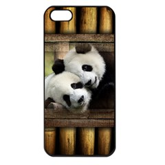 Panda Love Apple Iphone 5 Seamless Case (black) by TheWowFactor