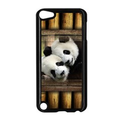 Panda Love Apple Ipod Touch 5 Case (black) by TheWowFactor