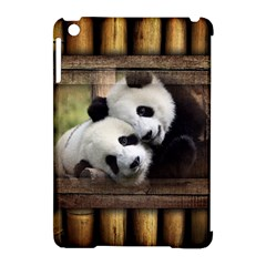 Panda Love Apple Ipad Mini Hardshell Case (compatible With Smart Cover)