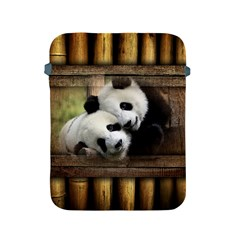 Panda Love Apple Ipad Protective Sleeve by TheWowFactor