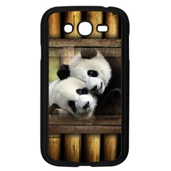 Panda Love Samsung Galaxy Grand Duos I9082 Case (black) by TheWowFactor