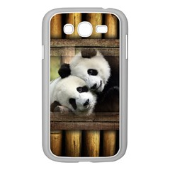 Panda Love Samsung Galaxy Grand Duos I9082 Case (white) by TheWowFactor
