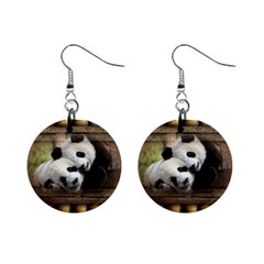Panda Love Mini Button Earrings by TheWowFactor