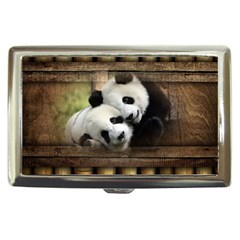 Panda Love Cigarette Money Case by TheWowFactor