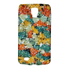 Paint Strokes In Retro Colors Samsung Galaxy S4 Active (i9295) Hardshell Case by LalyLauraFLM