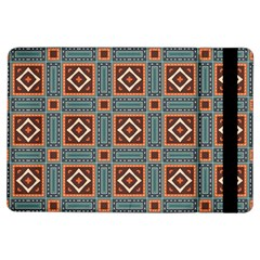 Squares Rectangles And Other Shapes Pattern Apple Ipad Air Flip Case by LalyLauraFLM