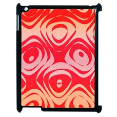 Gradient Shapes Apple Ipad 2 Case (black) by LalyLauraFLM