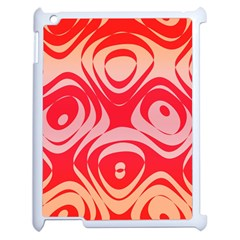 Gradient Shapes Apple Ipad 2 Case (white) by LalyLauraFLM