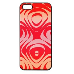Gradient Shapes Apple Iphone 5 Seamless Case (black) by LalyLauraFLM