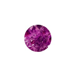 Amethyst Stone Of Healing 1  Mini Button by FunWithFibro