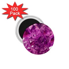 Amethyst Stone Of Healing 1 75  Button Magnet (100 Pack)