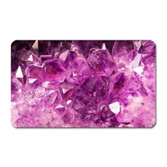 Amethyst Stone Of Healing Magnet (rectangular) by FunWithFibro