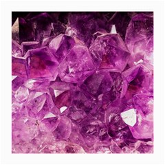 Amethyst Stone Of Healing Glasses Cloth (medium, Two Sided) by FunWithFibro