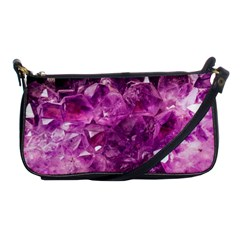 Amethyst Stone Of Healing Evening Bag by FunWithFibro