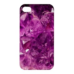 Amethyst Stone Of Healing Apple Iphone 4/4s Hardshell Case by FunWithFibro