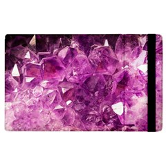 Amethyst Stone Of Healing Apple Ipad 3/4 Flip Case by FunWithFibro