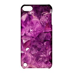 Amethyst Stone Of Healing Apple Ipod Touch 5 Hardshell Case With Stand by FunWithFibro