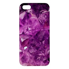 Amethyst Stone Of Healing Apple Iphone 5 Premium Hardshell Case by FunWithFibro