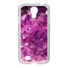 Amethyst Stone Of Healing Samsung Galaxy S4 I9500/ I9505 Case (white) by FunWithFibro