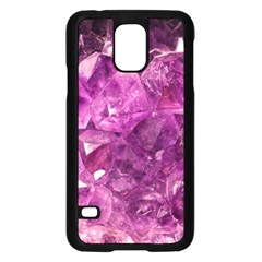 Amethyst Stone Of Healing Samsung Galaxy S5 Case (black) by FunWithFibro