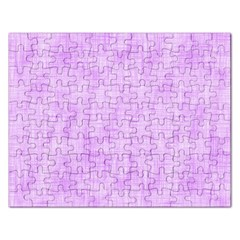 Hidden Pain In Purple Jigsaw Puzzle (rectangle) by FunWithFibro