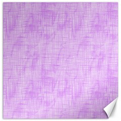Hidden Pain In Purple Canvas 16  X 16  (unframed) by FunWithFibro