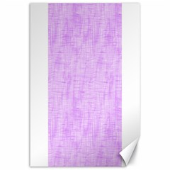 Hidden Pain In Purple Canvas 24  X 36  (unframed) by FunWithFibro