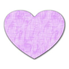 Hidden Pain In Purple Mouse Pad (heart) by FunWithFibro