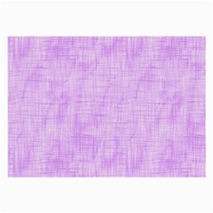 Hidden Pain In Purple Glasses Cloth (large) by FunWithFibro