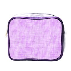 Hidden Pain In Purple Mini Travel Toiletry Bag (one Side) by FunWithFibro