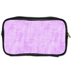 Hidden Pain In Purple Travel Toiletry Bag (one Side) by FunWithFibro