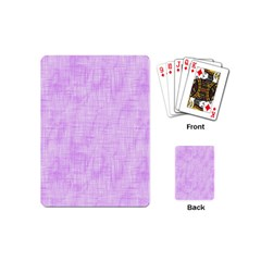 Hidden Pain In Purple Playing Cards (mini) by FunWithFibro