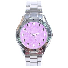 Hidden Pain In Purple Stainless Steel Watch