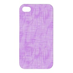 Hidden Pain In Purple Apple Iphone 4/4s Premium Hardshell Case by FunWithFibro
