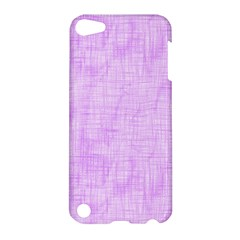 Hidden Pain In Purple Apple Ipod Touch 5 Hardshell Case by FunWithFibro