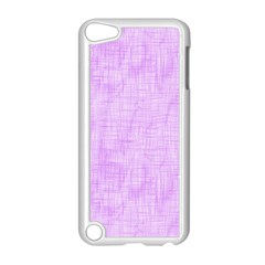 Hidden Pain In Purple Apple Ipod Touch 5 Case (white) by FunWithFibro